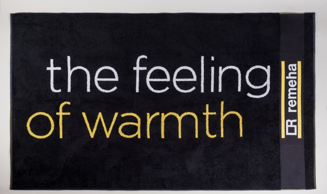 Fekete-sárga törölköző_feeling