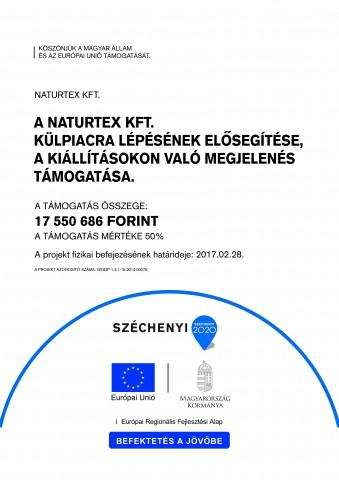 Naturtex Kft. külpiacra lépés elősegítése _A3